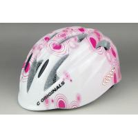 China Sport Bike Helmets For Girls / Mountain Cycle Helmet Pink Anti Impact on sale