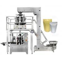 Quality 8 Station Stand Up Pouch Packaging Machine , Zipper Pouch Doypack Packing Machine for sale
