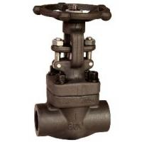 Quality Medium Pressure Forged Steel Gate Valve NPT End , 800LB / 1500LB for sale