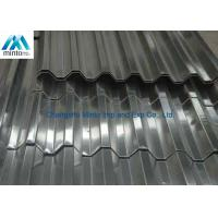 China Roof Tile Hot Dipped Galvanized Corrugated Metal Roofing Panels Water Resistant on sale