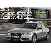Quality Android car navigation box interface for Audi A4 A5 , Navigation Video Interface for sale