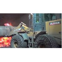 OTR tyre protection chains 23.5R25 for wheel loader mainly used in hot slag