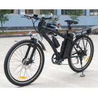Quality Lithium 36V 10Ah Battery Adult Electric Moped Bike With 250w Brush Engine for sale