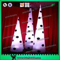 Quality Lighting Spot Inflatable Cone For Stage Decoration Performance Decoration for sale