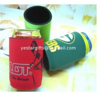 Quality Waterproof Neoprene Can Cooler With Base , Heat Transferring Huggies for sale