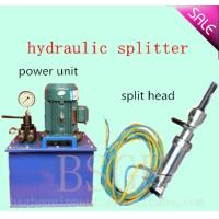Quality BSGH hydraulic splitter for concrete cutting for sale