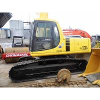 Quality PC220-6 Used KOMATSU Excavator New Paint Used Construction Machinery No Oil Leakage for sale