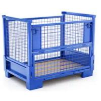 Buy cheap Warehouse Metal Storage Bins-foldable metal cage for storage from wholesalers