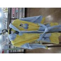 Quality Plain Dyed Terry Children′s Bathrobe for sale