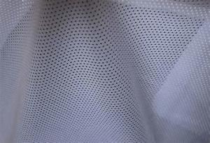 Quality Warp Knitted Monofilament Polyester Netting Fabric Flame Retardant for sale