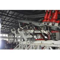 Buy Multi-Functional 12-90 Drilling Oilfield Workover Rig with pipe feeding system mounted on the front part of the mast at wholesale prices