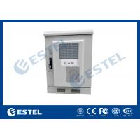 Quality Small Size Outdoor Telecom Equipment Cabinets Customized Sheet Metal Box With Heat Exchanger for sale