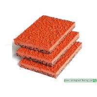 Quality Eco - friendly Breathable Rubber Running Track Material For Playground Flooring for sale