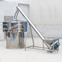 Buy cheap 304 Stainless steel automatic screw conveyor packing machine grain auger feeder from wholesalers