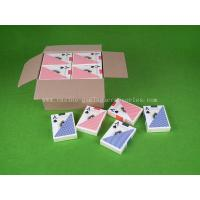 Buy cheap 100% PVC Plastic Texas Holdem Playing Card , Professional Hold' em Poker Cards product