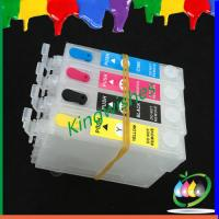 China inkjet cartridge for Epson XP-102 XP-202 refillable ink cartridge with chip on sale