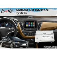 Quality Chevrolet Malibu Android 6.0 Navigation Video Interface for Mylink System 2015-2018 YouTube Waze for sale