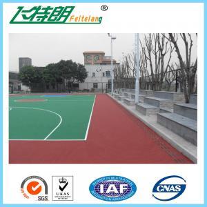 Quality Badminton Sports Court Tiles Outdoor Gym Flooring Against Cigarette Burns for sale