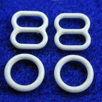 6mm Ring and Slide Accessory Set for Brassieres, Various Color Coatings are Available