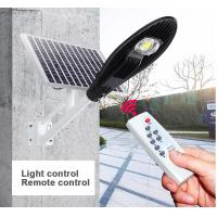 Quality Smart Control Solar Powered LED Street Lights 3000 - 6500K CCT Easy Install for sale