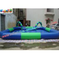 Buy cheap OEM or ODM Outdoor Kids Inflatable Swimming Water Pools 10 x 8 meter, with Custom Printed product