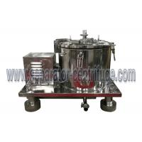 Quality Low cost stainless steel spin hemp oil centrifuge filter for sale