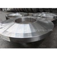Buy ST52 ST60-2 Carbon Steel Forged Rings Flanges Heat Treatment at wholesale prices
