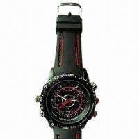 Quality Waterproof Cheap Camera Watch with 4GB Internal Memory for sale