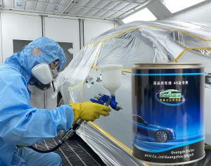 Quality 1K Base Auto Refinish Paint Fast Drying Solid White Strong Hiding Power for sale