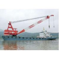China 300 ton floating crane for sale cheap crane barge 300 ton on sale