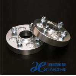 "Quality 25mm / 30mm Sliver Custom Wheel Adapters For Car 5*4.50"", Wheel Hub Flange for sale"