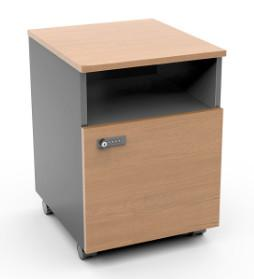 Quality Small Steel Mobile Pedestal Movable Rolling Locker File Storage Cabinet for sale