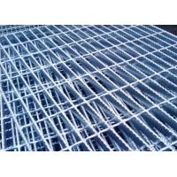Quality Hot Dipped Galvanized Serrated Grating Bearing Bar 32 X 5 / 25 X 5mm For Construction for sale