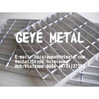 Quality Anodized Aluminium Swage-Locked Rectangular Bar Grating Smooth for Flooring Platforms for sale