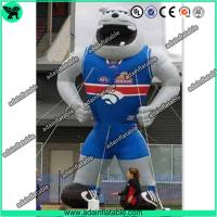 Quality Sports Advertising Inflatable Animal,Sports Event Inflatable Cartoon,Inflatable Bull Dog for sale