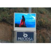 Quality Large Creative Outdoor LED Display Signs real and virtual pixels/colors for sale