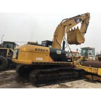 Quality 325DL Used Cat Crawler Excavator 25t 600mm Shoe Size With Good Engine / Pump for sale