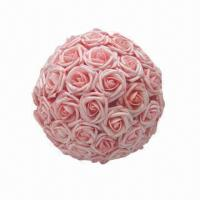 Quality Rose Artificial Flower Ball, Suitable for Many Occasions for sale