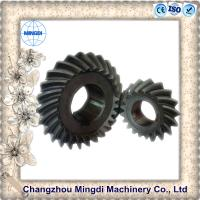 Quality Customized Rear Axle Differential Spiral Bevel Gear For Motorcycle Wheels for sale