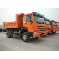 Quality Low Fuel Consumption Heavy Mining Trucks Euro Two 266hp 4x2 6 Wheels Mini Dumper for sale