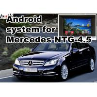 Quality Mercedes benz C class GPS Auto Navigation Systems mirror link 480*800 Android 4.4 for sale