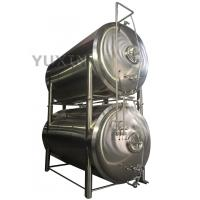Quality stainless steel 1000l 2000l 10bbl horizontal bright beer tank for sale