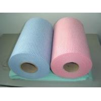 China Custom Printed Spunlace Non Woven Fabric Wipes Shrink Resistant and Durable on sale