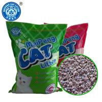 Quality eco friendly bentonite cat litter 3s clumping original color 1-3mm irregular shape 5kg for sale