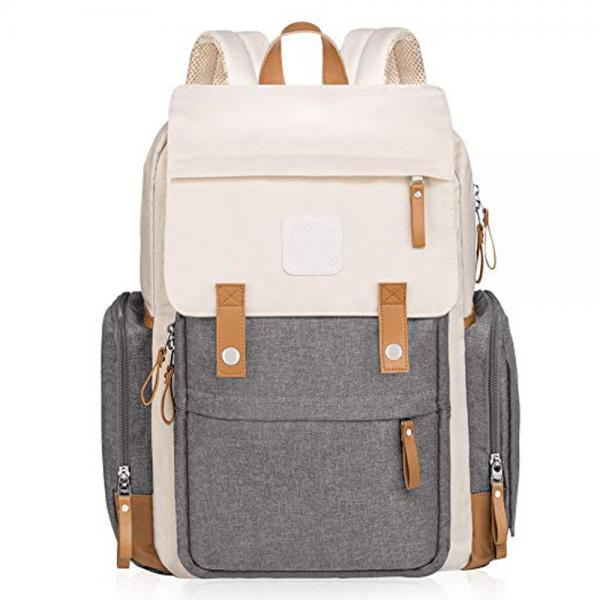 Buy Canvas Baby Diaper Backpack Large Capacity 40l For Mom at wholesale prices