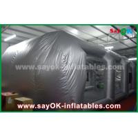China Waterproof Inflatable Air Tent / PVC Inflatable Spray Booth For Car Paint Spraying on sale