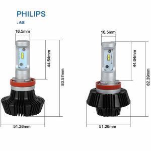 Quality High Power Car LED Light Bulbs 70w 8000lm 12v / 24v , H8 / H9 / H11 for sale
