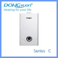 Quality European technology gas hot water boiler for 24 kilowatt from Dongyuan gas appliances company for sale