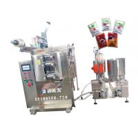 Quality Multiple Materials Sauce Filling Equipment With PLC Controller , Bright Color for sale