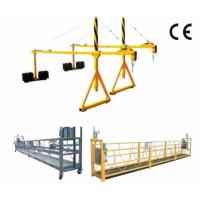 Buy 800 Rated load Personalized Rope Steel Suspended Platform with Dipping Zinc at wholesale prices